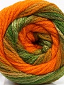 Fasergehalt 90% Acryl, 10% Polyamid, Orange, Brand Ice Yarns, Green Shades, fnt2-54528
