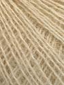 Fasergehalt 65% Acryl, 15% Alpaka, 10% Wolle, 10% Viskose, Brand Ice Yarns, Cream, fnt2-54540