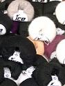 Kid Mohair Fine  Fasergehalt 40% Polyamid, 30% Kid Mohair, 30% Acryl, Brand Ice Yarns, fnt2-54574