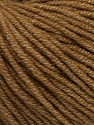 Fiber Content 50% Acrylic, 50% Cotton, Light Brown, Brand ICE, Yarn Thickness 3 Light  DK, Light, Worsted, fnt2-54666