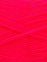 Very thin yarn. It is spinned as two threads. So you will knit as two threads. Yardage information is for only one strand. Fiber Content 100% Acrylic, Brand ICE, Gipsy Pink, Yarn Thickness 1 SuperFine  Sock, Fingering, Baby, fnt2-54712