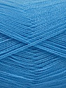 Very thin yarn. It is spinned as two threads. So you will knit as two threads. Yardage information is for only one strand. Fiber Content 100% Acrylic, Light Blue, Brand ICE, Yarn Thickness 1 SuperFine  Sock, Fingering, Baby, fnt2-54723