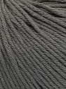 Global Organic Textile Standard (GOTS) Certified Product. CUC-TR-017 PRJ 805332/918191 Fiber Content 100% Organic Cotton, Brand ICE, Grey, Yarn Thickness 3 Light  DK, Light, Worsted, fnt2-54726