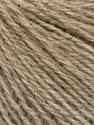 Fiber Content 43% Acrylic, 4% PBT, 36% Alpaca Superfine, 17% Merino Wool, Brand ICE, Beige, Yarn Thickness 2 Fine  Sport, Baby, fnt2-55049