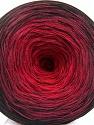 Fasergehalt 50% Baumwolle, 50% Acryl, Red, Brand Ice Yarns, Burgundy, Black, fnt2-55062