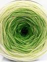 Fasergehalt 50% Baumwolle, 50% Acryl, Brand Ice Yarns, Green Shades, Cream, fnt2-55064