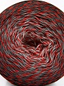 Fasergehalt 50% Baumwolle, 50% Acryl, White, Red, Brand Ice Yarns, Grey Shades, Black, fnt2-55070