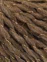 Fiber Content 58% Acrylic, 2% Lurex, 15% Wool, 15% Alpaca, 10% Viscose, Brand ICE, Gold, Camel, fnt2-55235