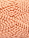 Fiber Content 75% Superwash Wool, 25% Polyamide, Light Salmon, Brand ICE, Yarn Thickness 1 SuperFine  Sock, Fingering, Baby, fnt2-55471