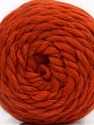Fiber Content 100% Wool, Orange, Brand ICE, Yarn Thickness 6 SuperBulky  Bulky, Roving, fnt2-55488