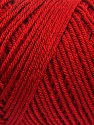 Items made with this yarn are machine washable & dryable. Fiber Content 100% Dralon Acrylic, Brand ICE, Dark Red, Yarn Thickness 4 Medium  Worsted, Afghan, Aran, fnt2-55793