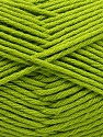 Fiber Content 50% SuperFine Nylon, 50% SuperFine Acrylic, Brand ICE, Green, Yarn Thickness 4 Medium  Worsted, Afghan, Aran, fnt2-56286