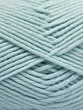 Fiber Content 50% SuperFine Acrylic, 50% SuperFine Nylon, Light Blue, Brand ICE, Yarn Thickness 4 Medium  Worsted, Afghan, Aran, fnt2-56288