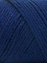 Fiber Content 50% Wool, 50% Acrylic, Navy, Brand ICE, Yarn Thickness 3 Light  DK, Light, Worsted, fnt2-56435