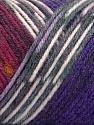 Fiber Content 50% Wool, 50% Acrylic, White, Purple, Brand ICE, Grey, Burgundy, Yarn Thickness 3 Light  DK, Light, Worsted, fnt2-56453
