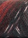 Fiber Content 50% Wool, 50% Acrylic, Maroon, Brand ICE, Grey Shades, Burgundy, Yarn Thickness 3 Light  DK, Light, Worsted, fnt2-56454