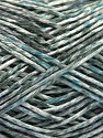 Fiber Content 100% Micro Acrylic, White, Brand ICE, Grey, Blue, Yarn Thickness 3 Light  DK, Light, Worsted, fnt2-56470
