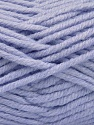 Fiber Content 80% Acrylic, 20% Polyamide, Light Lilac, Brand ICE, Yarn Thickness 5 Bulky  Chunky, Craft, Rug, fnt2-56587
