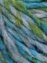 Fiber Content 40% Wool, 35% Acrylic, 25% Polyamide, Turquoise, Light Lilac, Brand ICE, Green, fnt2-56778