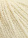 Fiber Content 50% Extrafine Merino Wool, 50% Polyamide, Brand ICE, Ecru, fnt2-56819