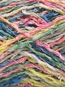 Fiber Content 45% Acrylic, 35% Cotton, 20% Polyamide, Yellow, Pink, Brand ICE, Green, Blue, Yarn Thickness 3 Light  DK, Light, Worsted, fnt2-57266