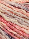 Fiber Content 50% Cotton, 50% Acrylic, Pink Shades, Brand ICE, Grey, Cream, Yarn Thickness 4 Medium  Worsted, Afghan, Aran, fnt2-57279