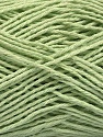 Fiber Content 100% Cotton, Light Green, Brand ICE, Yarn Thickness 2 Fine  Sport, Baby, fnt2-57314