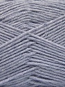 Fiber Content 80% Acrylic, 20% Polyamide, Light Lavender, Brand ICE, Yarn Thickness 3 Light  DK, Light, Worsted, fnt2-57376