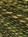 Composição 50% Lã, 50% Acrílico, Brand ICE, Green Shades, fnt2-57447