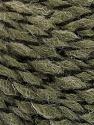 Composição 50% Lã, 50% Acrílico, Khaki, Brand ICE, fnt2-57464