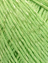 Fiber Content 70% Mercerised Cotton, 30% Viscose, Light Green, Brand KUKA, Yarn Thickness 2 Fine  Sport, Baby, fnt2-57571