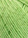 Composição 70% Algodão mercerizado, 30% Viscose, Light Green, Brand KUKA, fnt2-57571