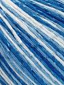 Fasergehalt 70% Merzerisation, 30% Viskose, Brand KUKA, Blue Shades, fnt2-57576