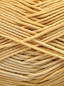 Fiber Content 100% Mercerised Cotton, Brand ICE, Cream, Yarn Thickness 2 Fine  Sport, Baby, fnt2-57609