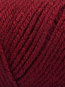 Items made with this yarn are machine washable & dryable. Fiber indhold 100% Akryl, Brand ICE, Burgundy, Yarn Thickness 4 Medium  Worsted, Afghan, Aran, fnt2-57615