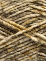 Fiber indhold 70% Akryl, 30% Uld, White, Brand ICE, Camel, Brown Shades, Yarn Thickness 4 Medium  Worsted, Afghan, Aran, fnt2-57642