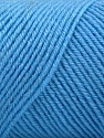 Fiber Content 50% Wool, 50% Acrylic, Light Blue, Brand ICE, fnt2-57731