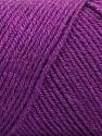 Fiberinnhold 50% Ull, 50% Akryl, Purple, Brand ICE, fnt2-57734