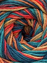 Fiber Content 100% Acrylic, Turquoise, Salmon, Jeans Blue, Brand ICE, Gold, Yarn Thickness 3 Light  DK, Light, Worsted, fnt2-57765