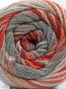 Conţinut de fibre 90% Acrilic, 10% Poliamidă, Orange, Brand ICE, Grey Shades, Copper, fnt2-57777