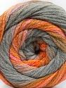 Conţinut de fibre 90% Acrilic, 10% Poliamidă, Pink, Orange, Olive Green, Brand ICE, Grey Shades, fnt2-57778