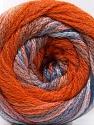 Conţinut de fibre 90% Acrilic, 10% Poliamidă, Pink, Orange, Lilac, Brand ICE, Blue, fnt2-57779