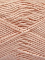 Fiber Content 50% Acrylic, 50% Bamboo, Light Pink, Brand ICE, Yarn Thickness 2 Fine  Sport, Baby, fnt2-57844
