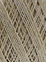 Conţinut de fibre 90% Metalic lurex, 10% Viscoză, Brand ICE, Beige, fnt2-57852