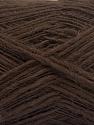 Conţinut de fibre 100% Acrilic, Brand ICE, Dark Brown, fnt2-57878