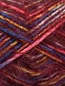 Contenido de fibra 55% Acrílico, 45% Poliamida, Yellow, Pink, Brand ICE, Burgundy, Blue, Yarn Thickness 4 Medium  Worsted, Afghan, Aran, fnt2-57883