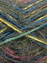Contenido de fibra 55% Acrílico, 45% Poliamida, Yellow, Pink, Khaki, Brand ICE, Blue, Yarn Thickness 4 Medium  Worsted, Afghan, Aran, fnt2-57885