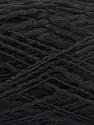 Fasergehalt 90% Acryl, 10% Polyamid, Brand ICE, Black, Yarn Thickness 3 Light  DK, Light, Worsted, fnt2-57891