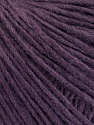 Fiber Content 50% Wool, 50% Acrylic, Purple, Brand ICE, Yarn Thickness 3 Light  DK, Light, Worsted, fnt2-57900