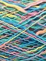 Conţinut de fibre 100% Bumbac, Yellow, Turquoise, Pink, Mint Green, Brand ICE, fnt2-57904